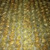 EMB Organza - Ribbon Rosette Small - Col: Gold